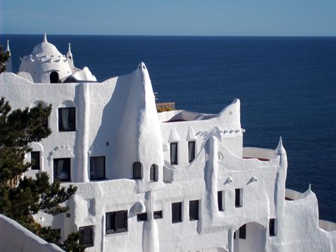 Uruguay's White Palace on the Atlantic