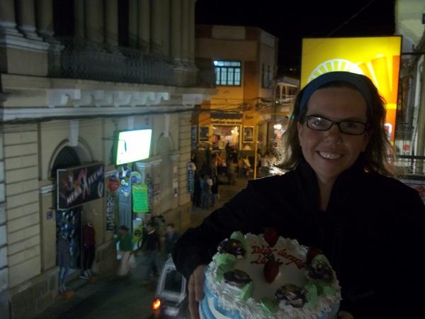 Leah's Birthday in Tarija, Bolivia
