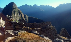Sunrise Over Macchu Pichu