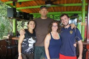 Cook, Capitan, Leah and Ben