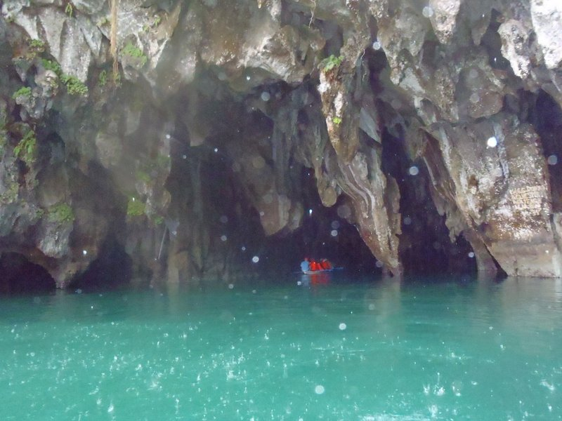 Sabang's Underground River, one of the 7 new wonders of nature.