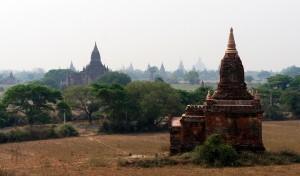 stupas everywhere